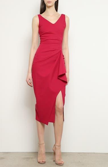 Kloty Ruched Midi Dress, video thumbnail