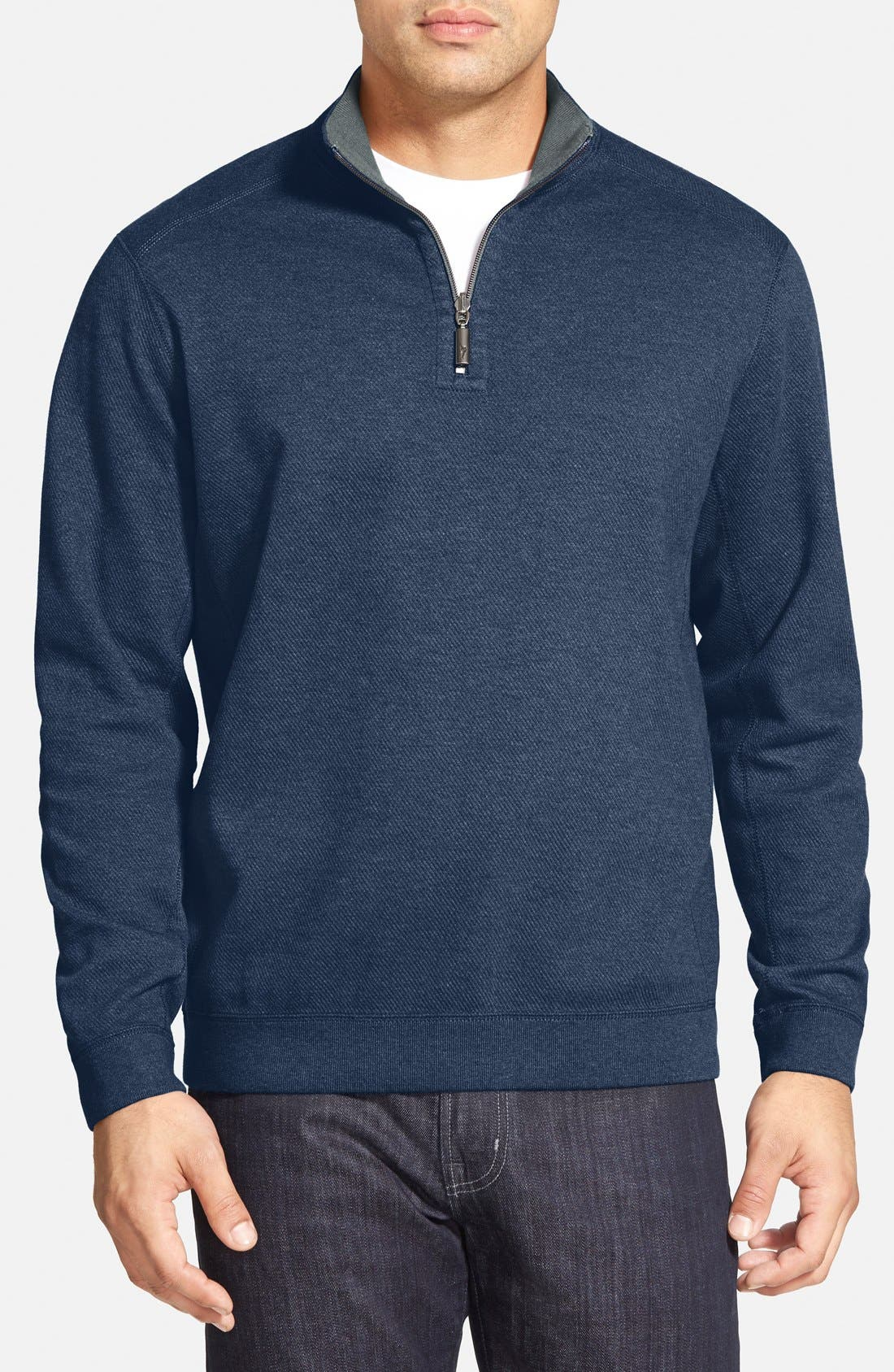 ,                             'Flip Side' Reversible Quarter Zip Pullover,                             Main thumbnail 79, color,                             410