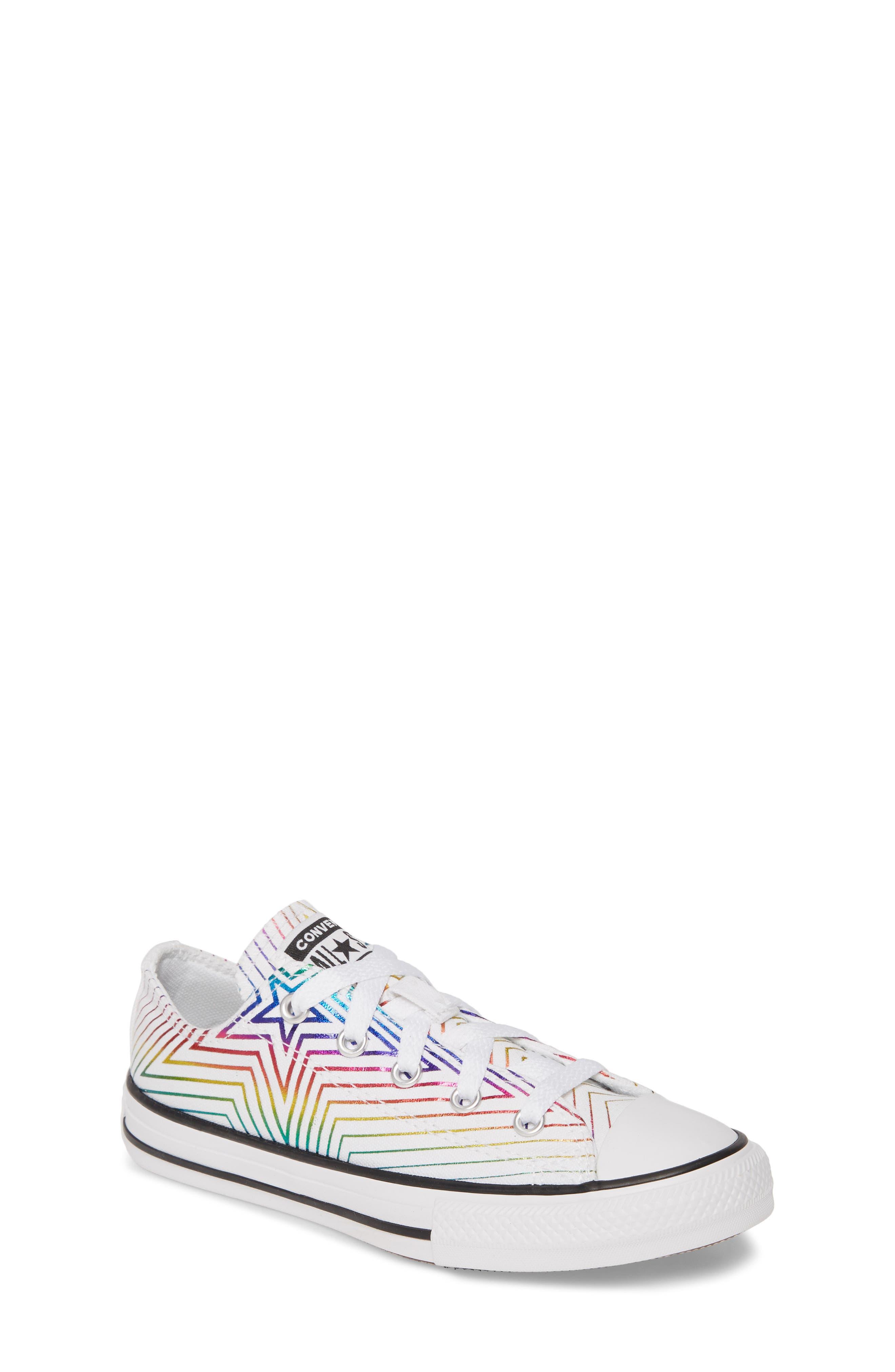 Rainbow Star Low Top Sneaker (Toddler