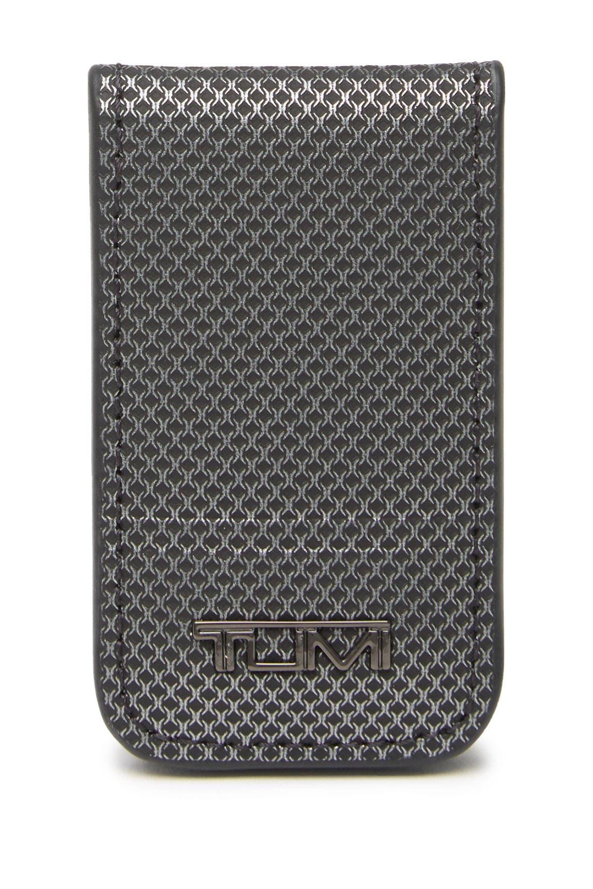 JW /_ JT /_ Men/'s Fashion en cuir véritable Magnétique Argent Clip Mini Bills Titulaire Wa