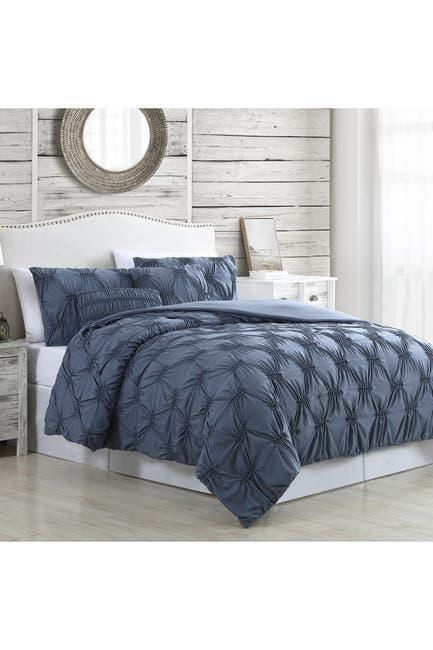 Image of Modern Threads 5-Piece Solid Textured Comforter Set - Alanis - Queen