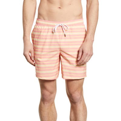 Bonobos E-Waist 7-Inch Swim Trunks, Pink