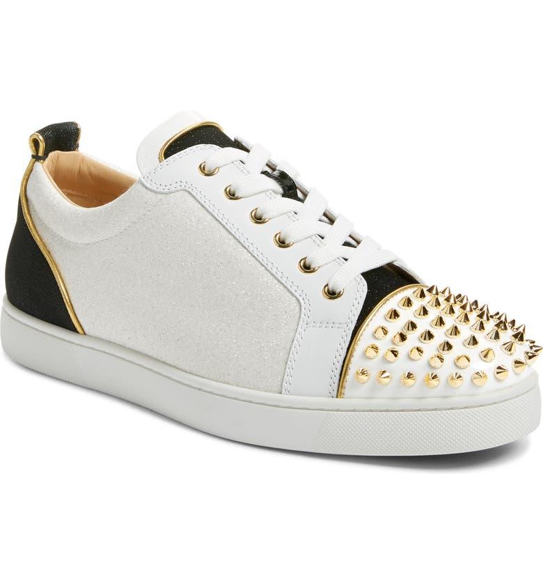 CHRISTIAN LOUBOUTIN Glitter Low Top Sneaker, Main, color, VERSION MULTI