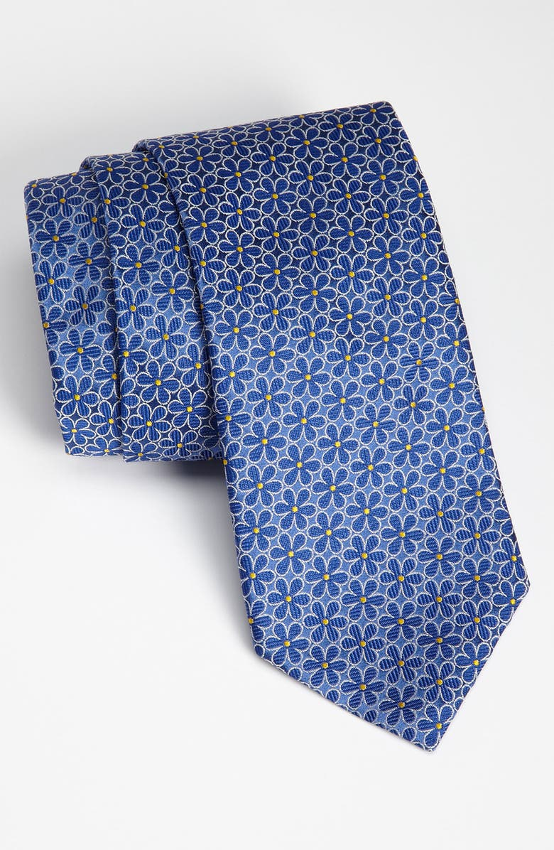 BROOKS BROTHERS Woven Silk Tie, Main, color, 410