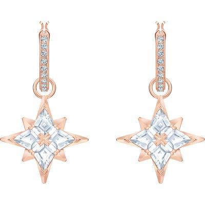Swarovski Symbolic Star Convertible Hoop Earrings