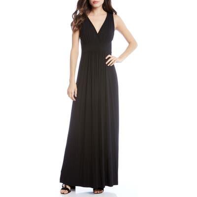 Karen Kane Jersey Knit Maxi Dress, Black