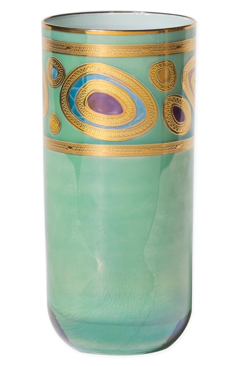 VIETRI Regalia Highball Glass, Main, color, AQUA