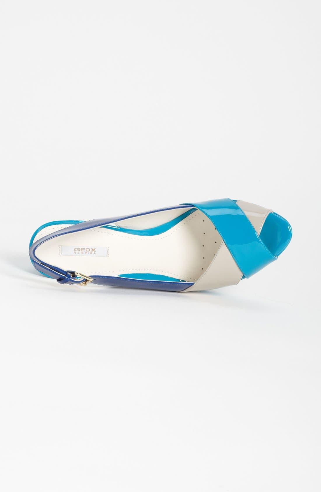 ,                             'New Egizia' Slingback Sandal,                             Alternate thumbnail 3, color,                             065