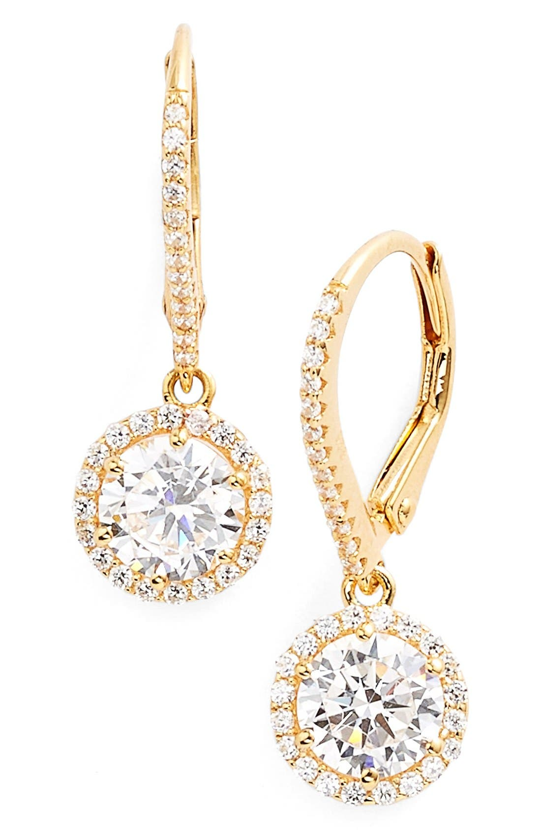 The timeless elegance of lever-back drop earrings get a radiant boost from 68 sparkling simulated diamonds that glint and glitter in the light. Style Name: Lafonn \\\'Lassaire\\\' Drop Earrings. Style Number: 5025276. Available in stores.