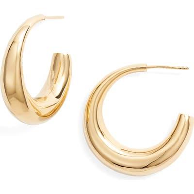 Argento Vivo Tapered Hoop Earrings