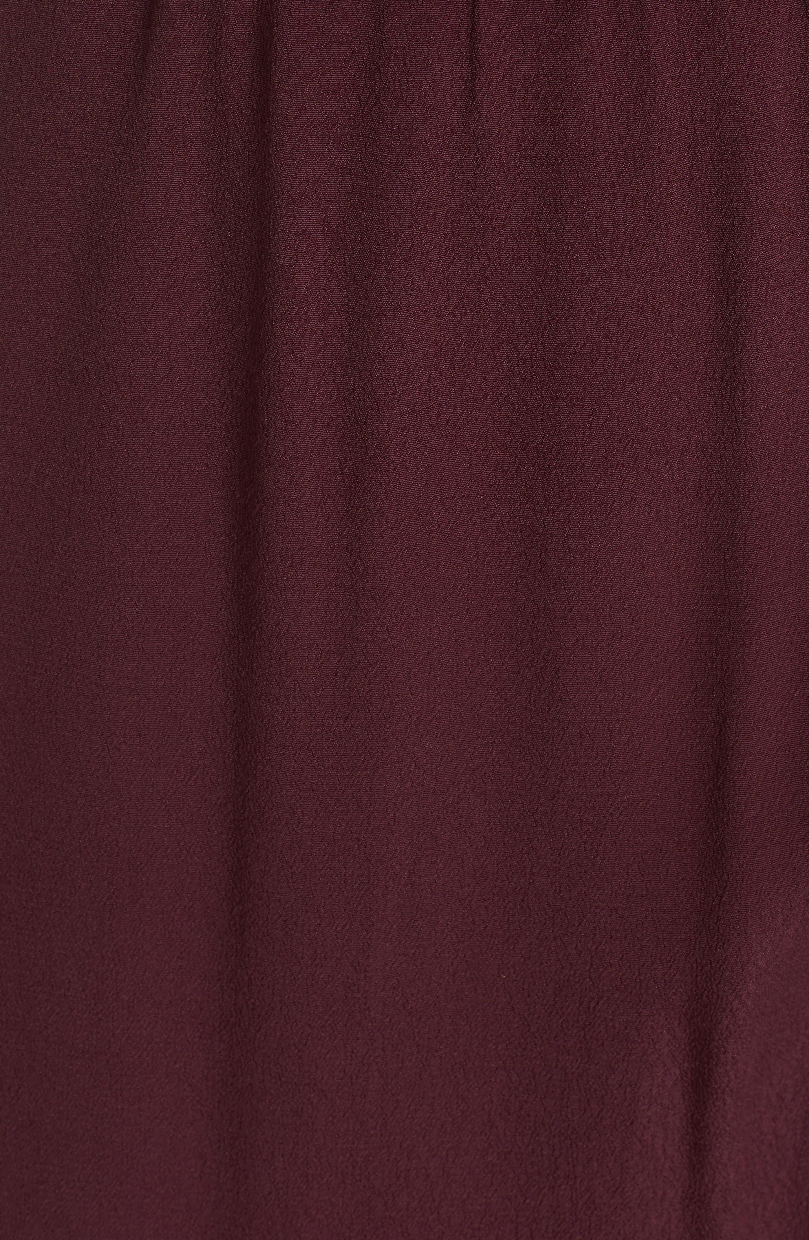 ,                             Cold Shoulder Midi Dress,                             Alternate thumbnail 18, color,                             930