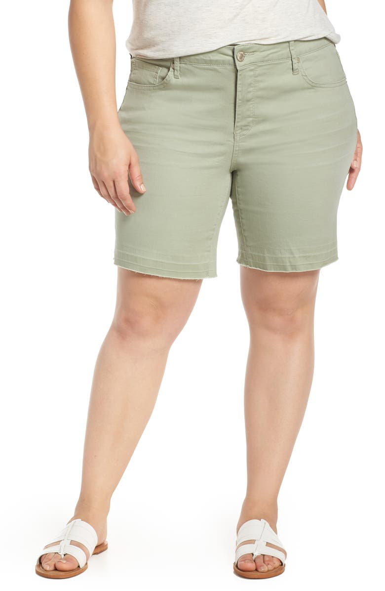SEVEN7 Weekend Bermuda Shorts, Main, color, SLATE GRAY