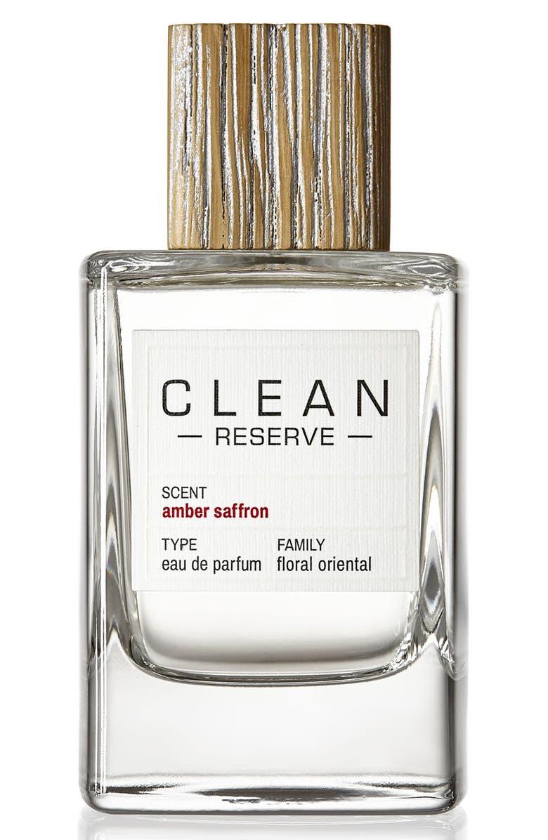 CLEAN RESERVE Amber Saffron Eau de Parfum, Main, color, 000