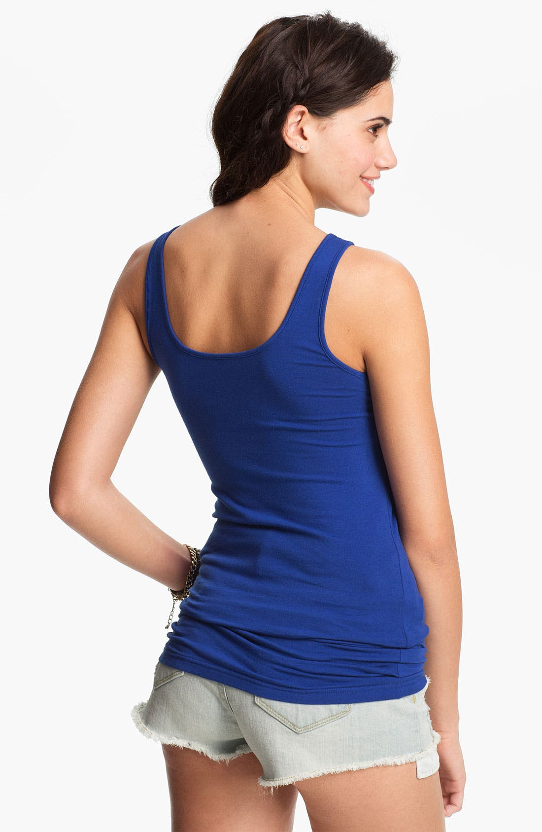 ,                             Double Scoop Neck Tank,                             Alternate thumbnail 182, color,                             429