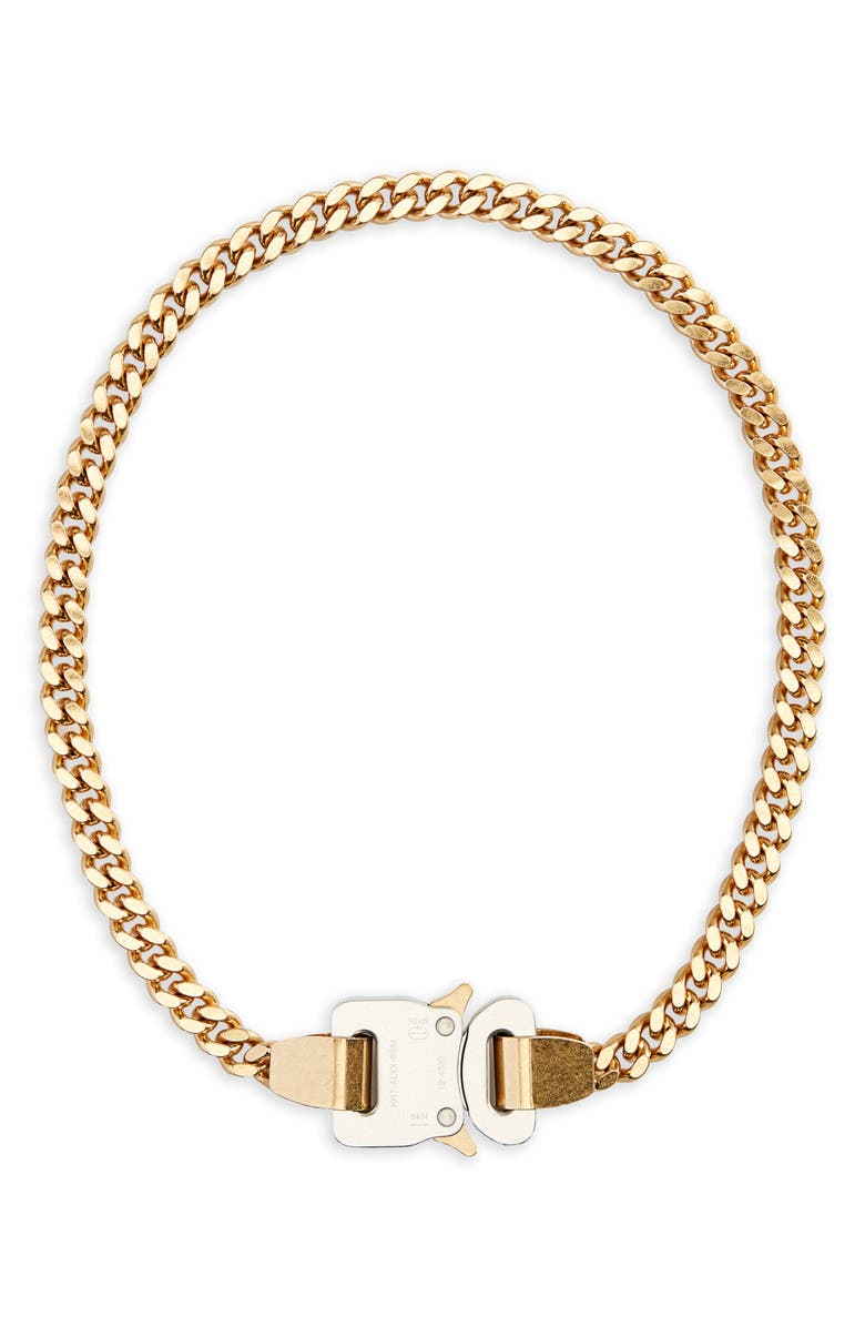 1017 ALYX 9SM Classic Chain Link Necklace, Main, color, GOLD