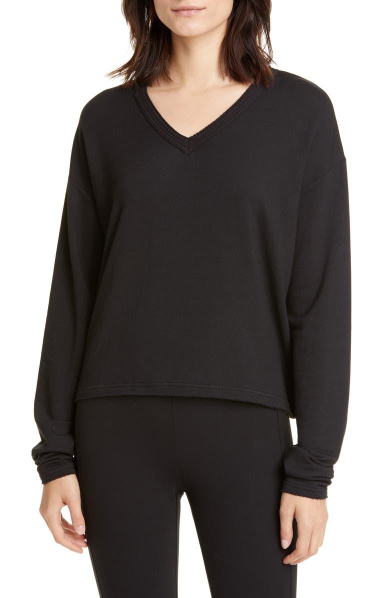 RAG & BONE Surplus Pullover, Main, color, BLACK