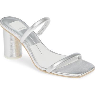 Dolce Vita Noles City Slide Sandal, Metallic