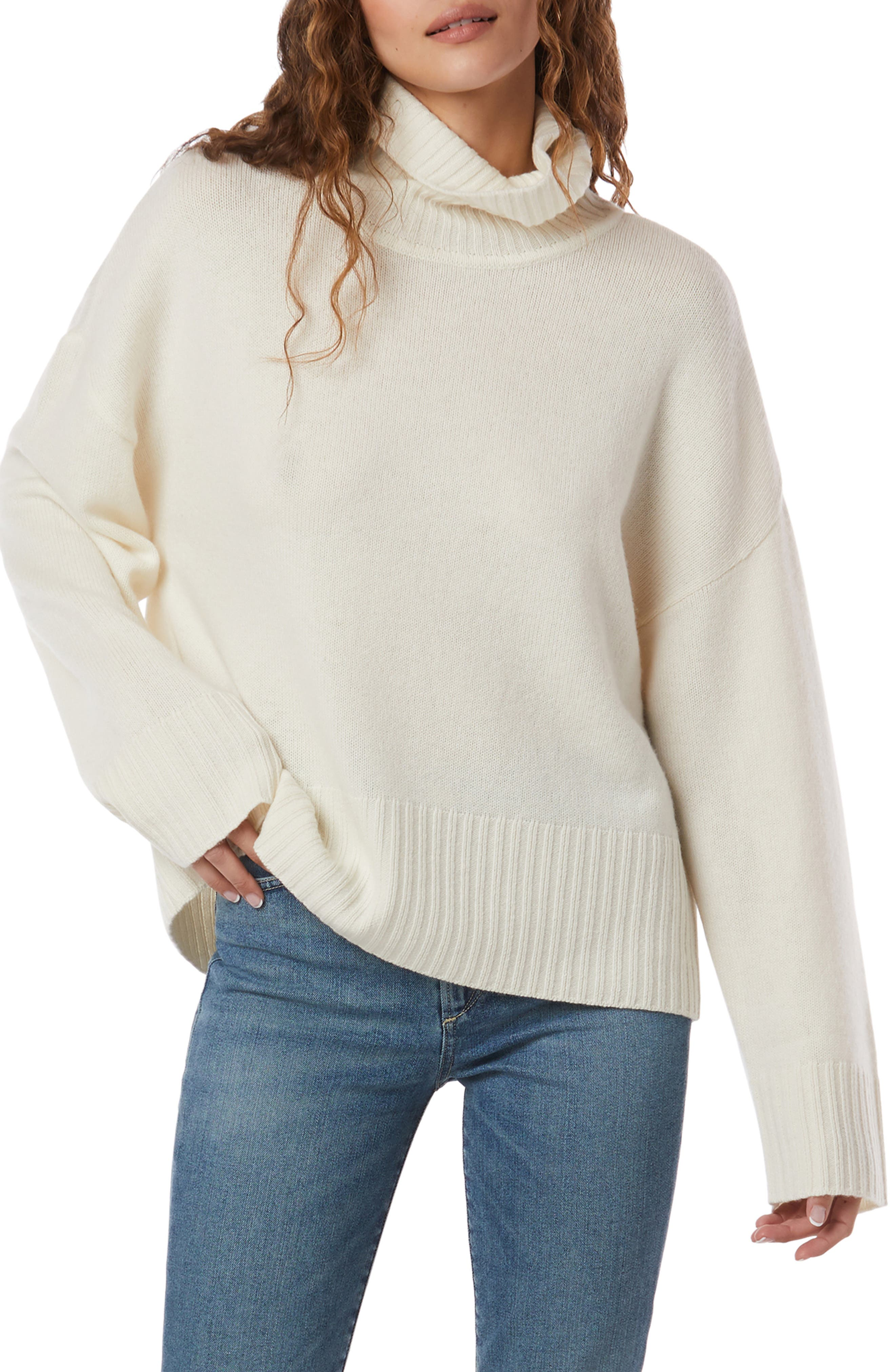 Cowl Neck Wool & Cashmere Sweater