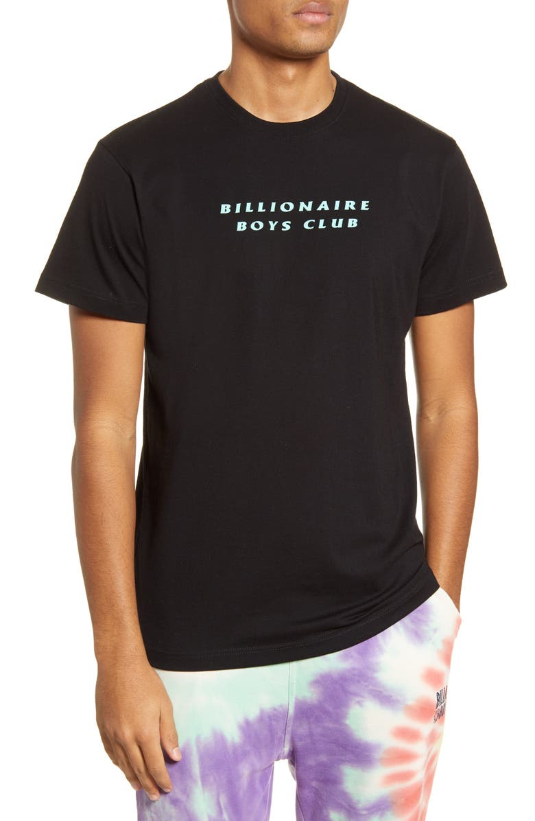BILLIONAIRE BOYS CLUB Aurora Logo T-Shirt, Main, color, BLACK