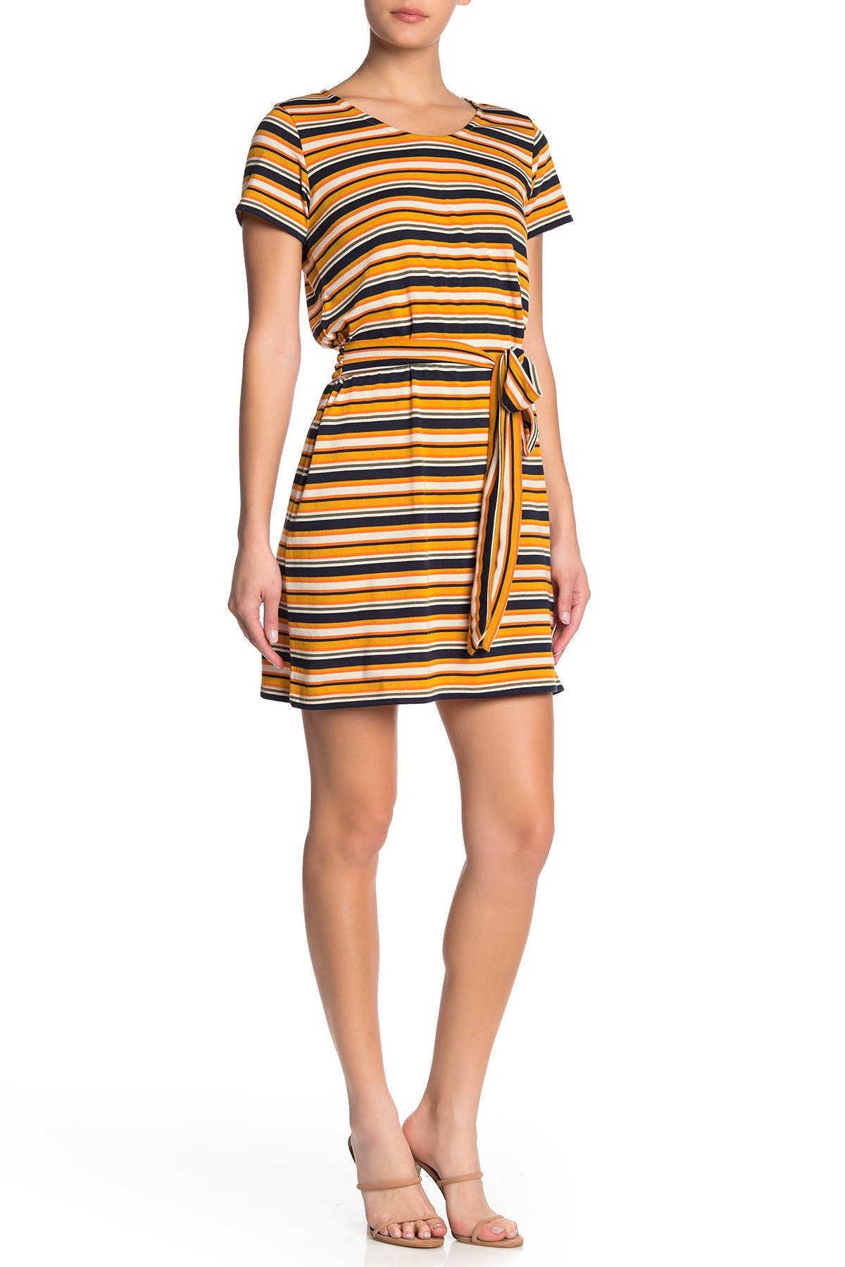Image of Cotton On Bella Tie Front T-Shirt Dress