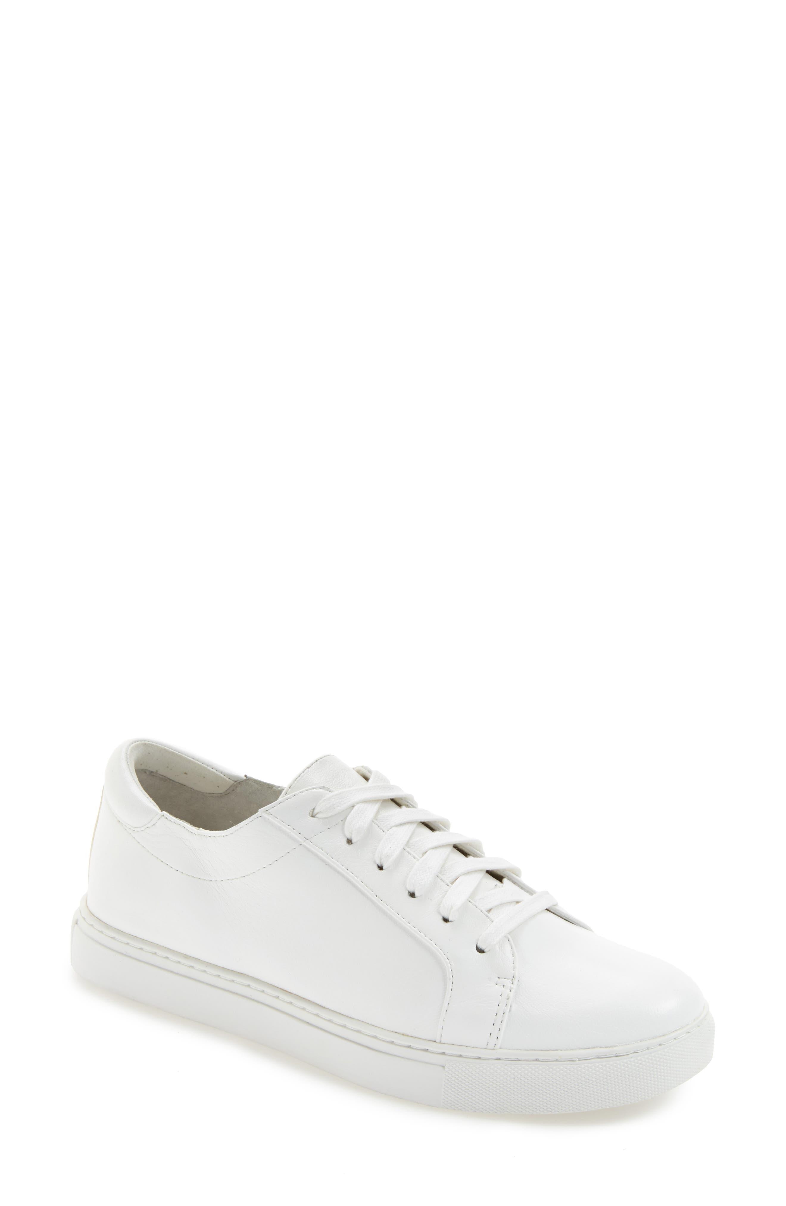 ,                             'Kam' Sneaker,                             Alternate thumbnail 4, color,                             WHITE