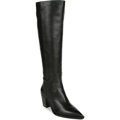 Sam Edelman Lindsey Pointed Toe Knee High Boot, Black