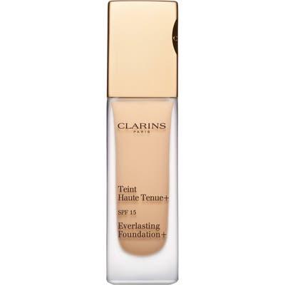 Clarins Everlasting Foundation+ Spf 15 - Sand