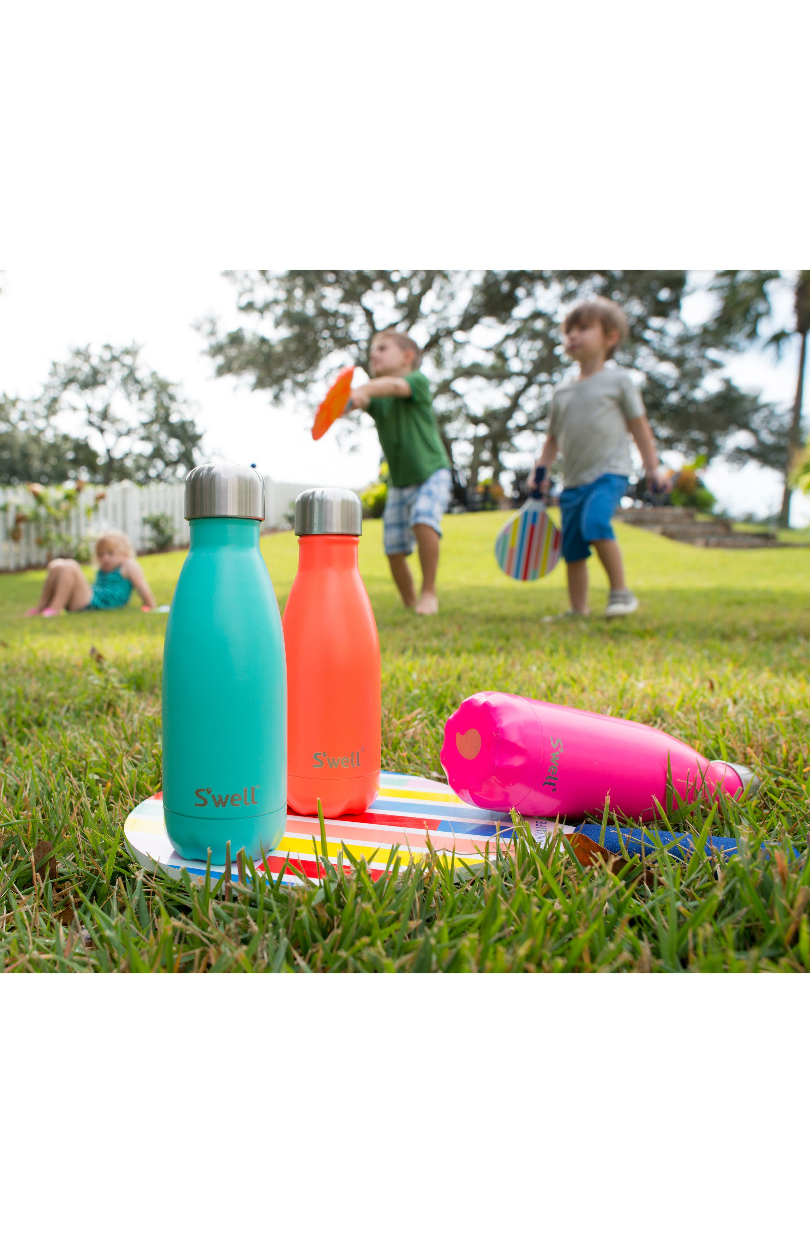 ,                             'Birds of Paradise' Insulated Stainless Steel Water Bottle,                             Alternate thumbnail 2, color,                             950