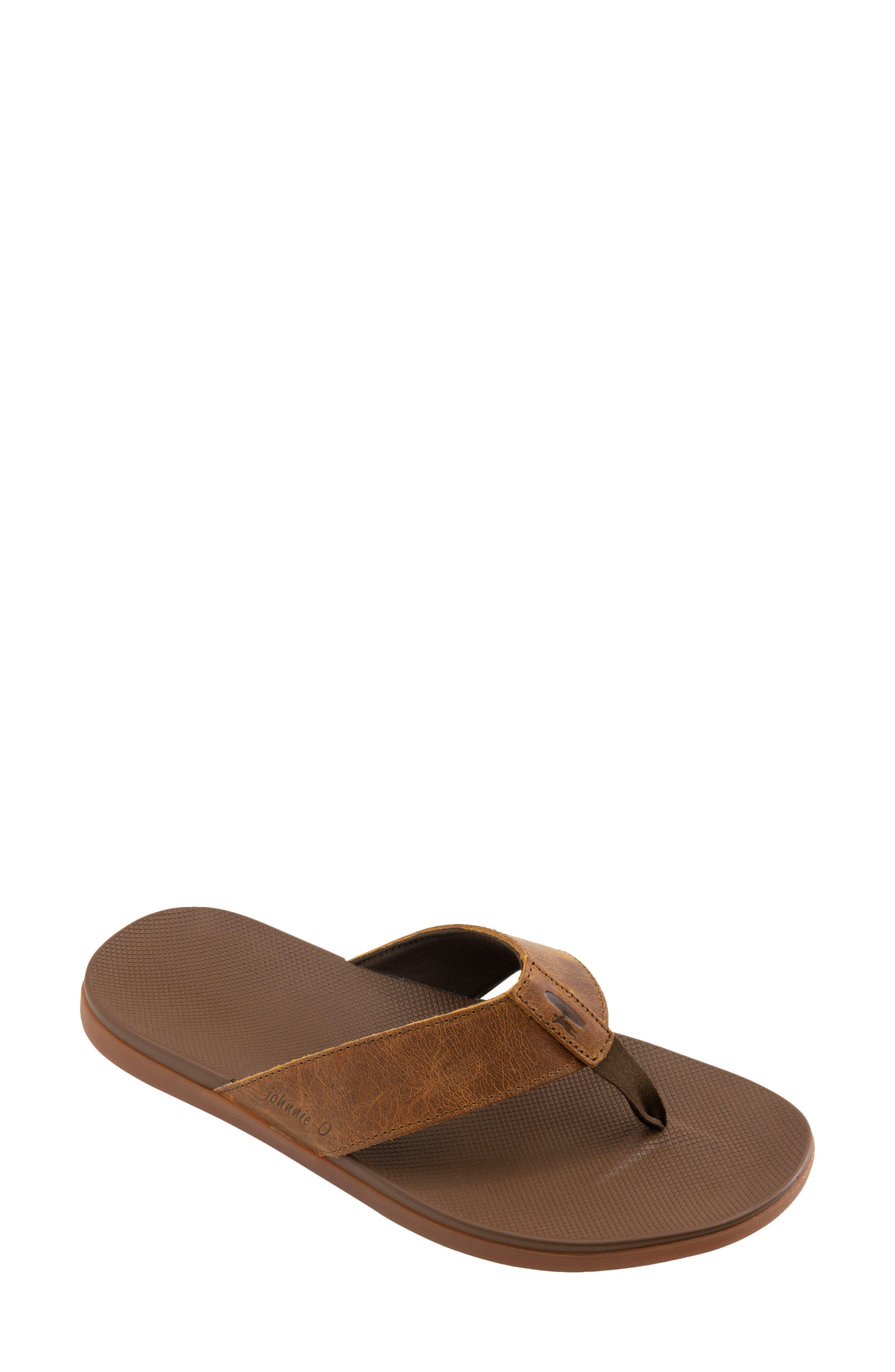 Dockside Leather Flip Flop