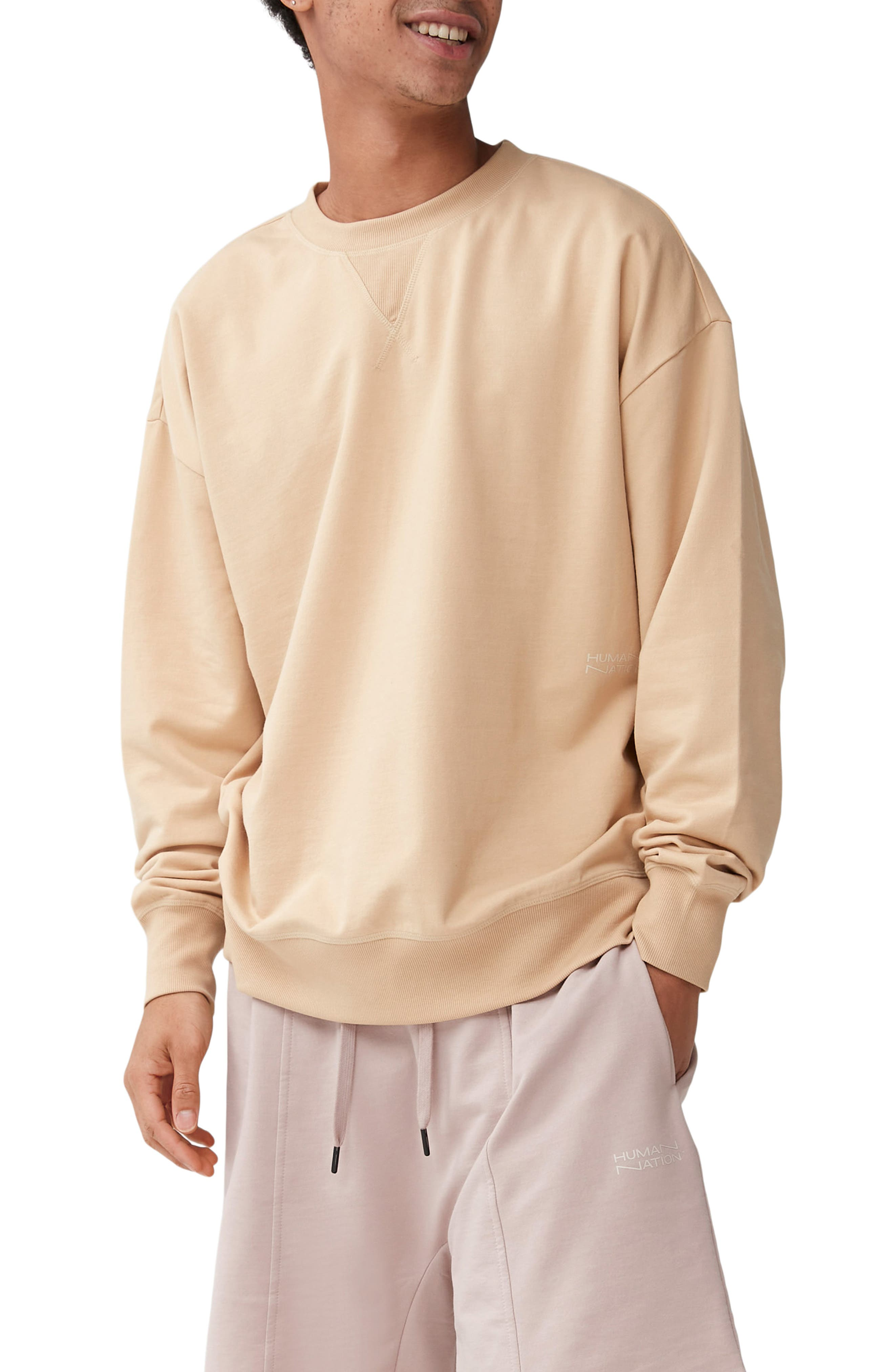 Gender Inclusive Organic Cotton Blend Crewneck Sweatshirt