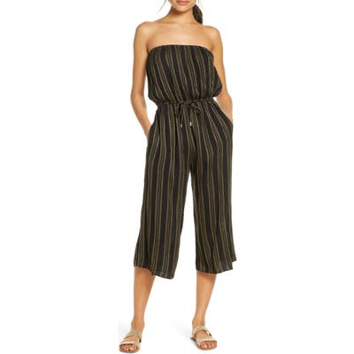 Elan Strapless Cover-Up Culotte Jumpsuit