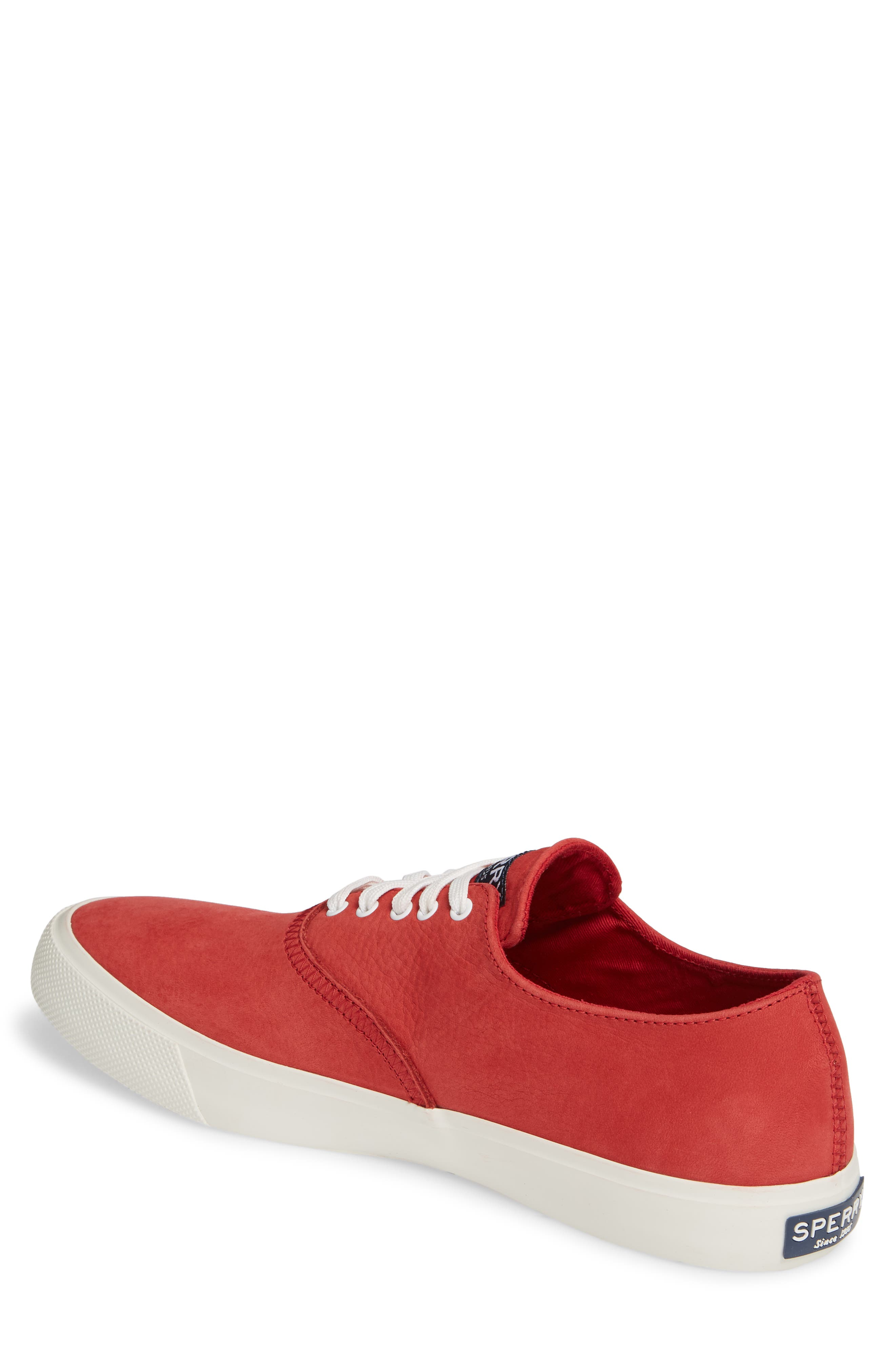 ,                             Captains CVO Washable Sneaker,                             Alternate thumbnail 2, color,                             RED LEATHER