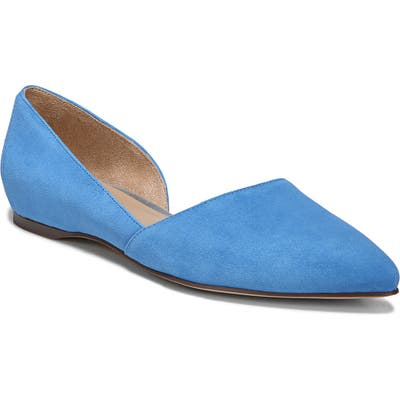 Naturalizer Samantha 2 Flat, Blue