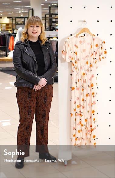Floral Fields Midi Dress, sales video thumbnail