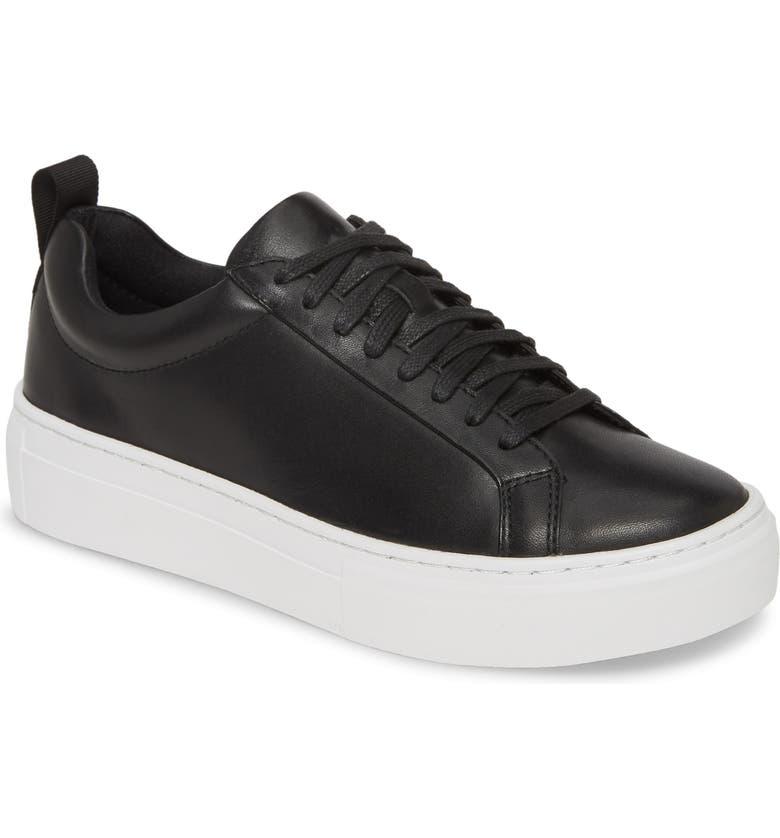 VAGABOND SHOEMAKERS Zoe Sneaker, Main, color, BLACK