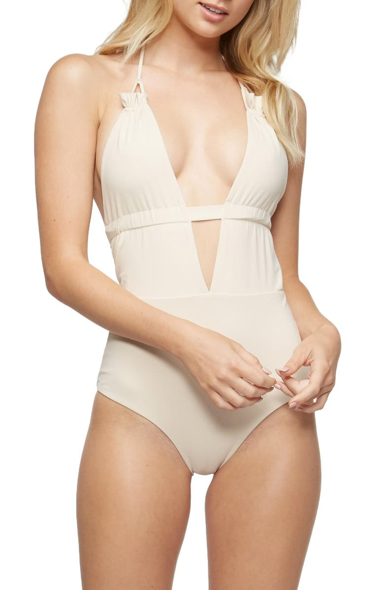 0a1df85fa24b7 Emme Halter One-Piece Swimsuit, Main, color, 900