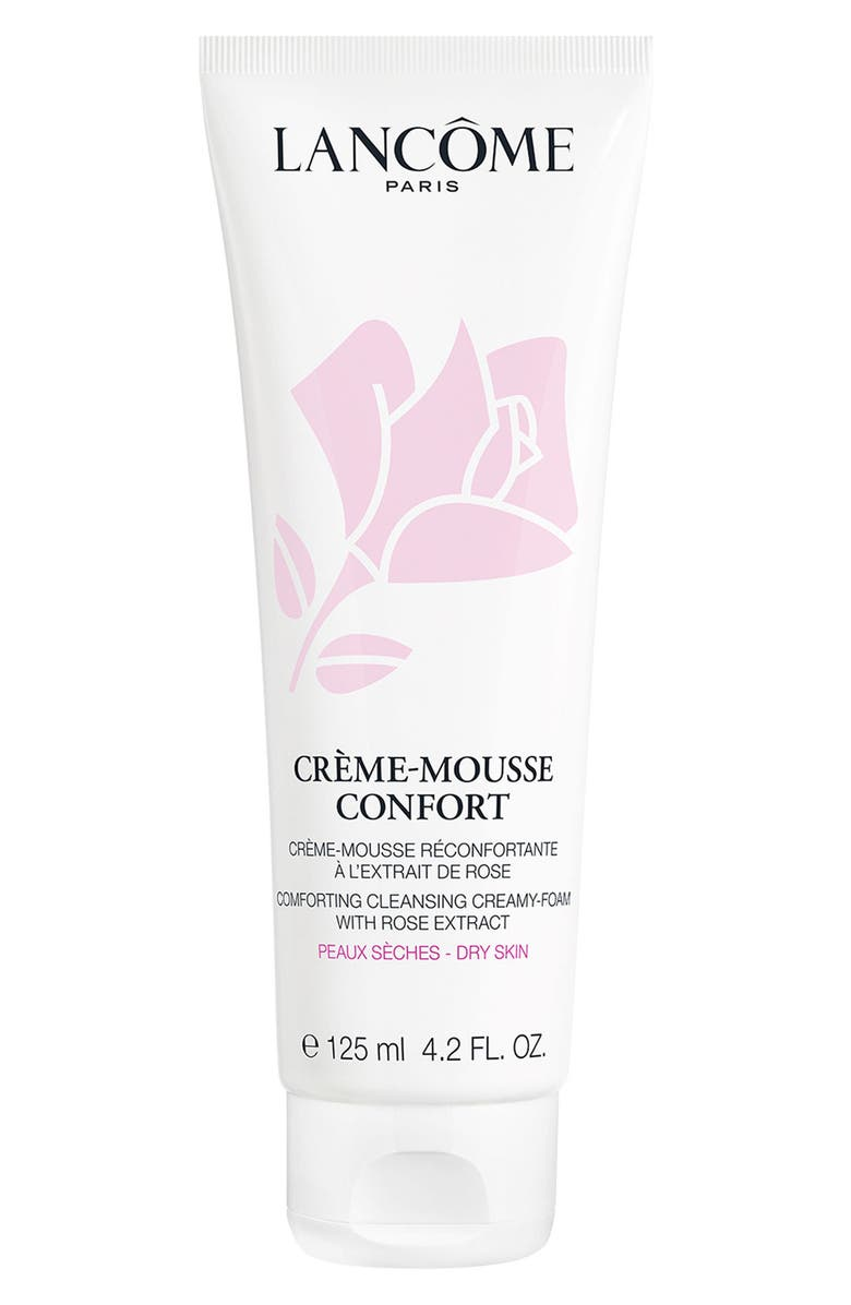 LANCÔME Crème Mousse Confort Creamy Foaming Cleanser, Main, color, NO COLOR