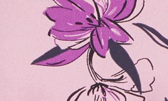 PURPLE CARLY FLORAL
