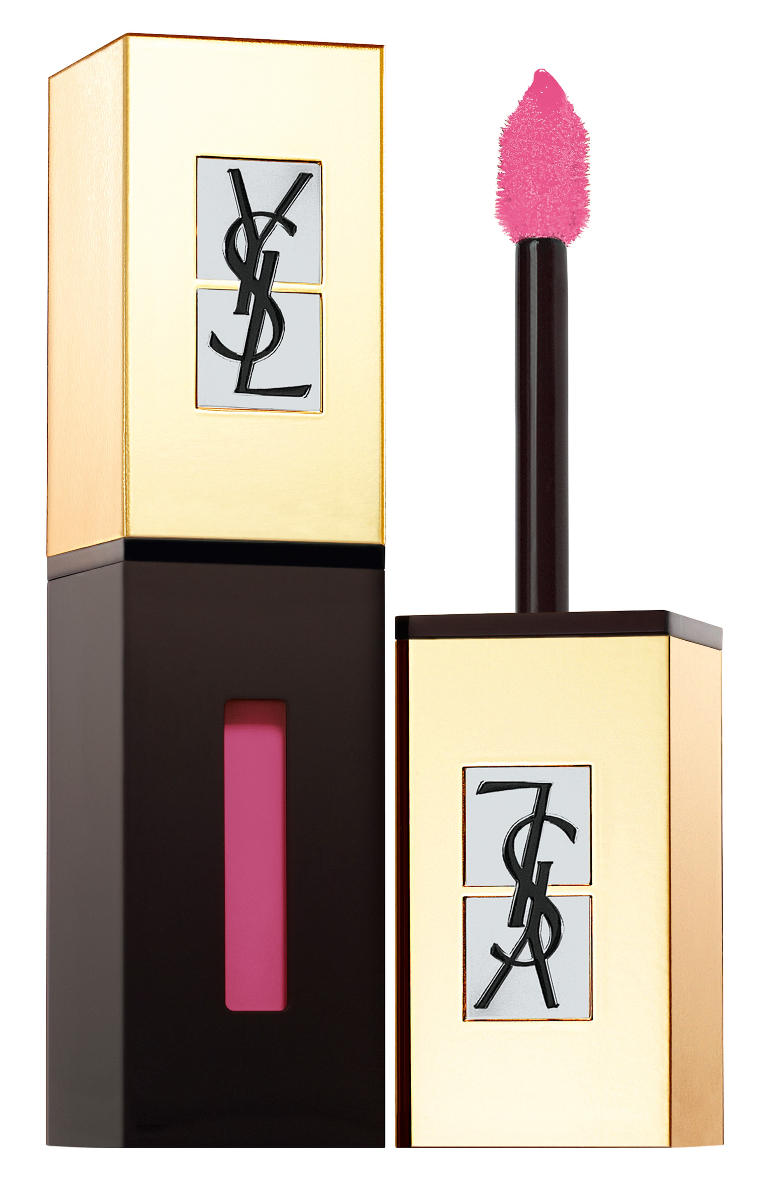 Yves Saint Laurent Pop Water Vernis A Levres Glossy Stain - 205 Pink Rain