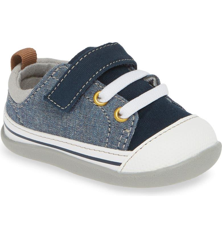 SEE KAI RUN Stevie II Sneaker, Main, color, BLUE DENIM