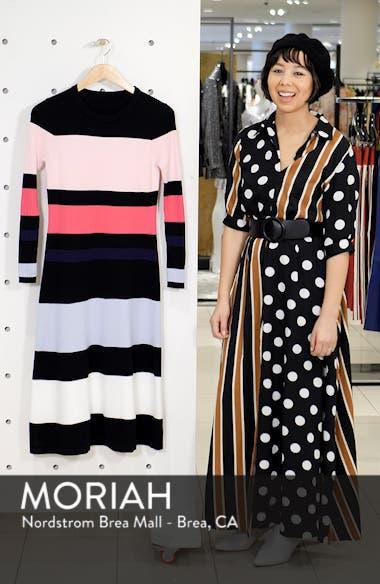 Stripe Sweater Dress, sales video thumbnail