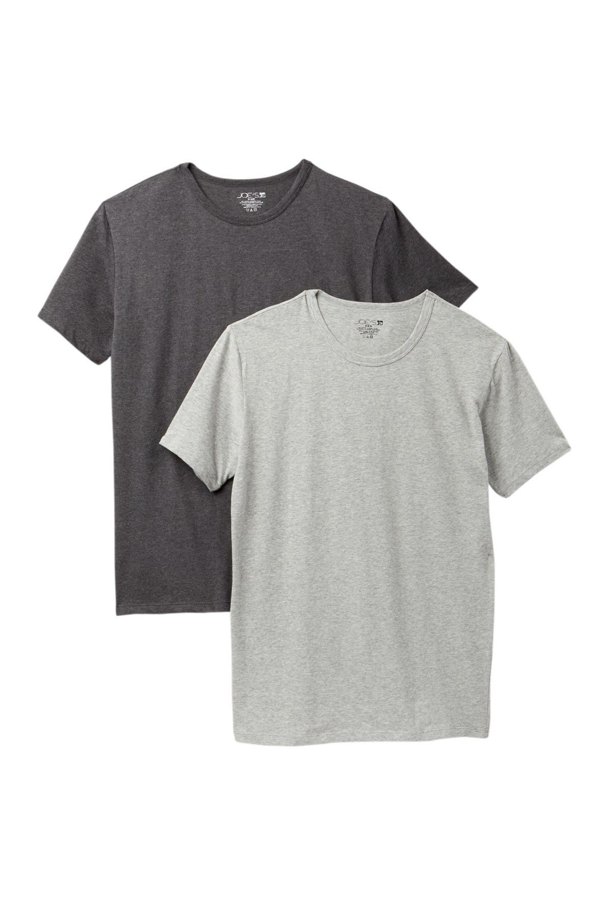 Image of Joe's Jeans Crew Neck T-Shirt - Pack of 2