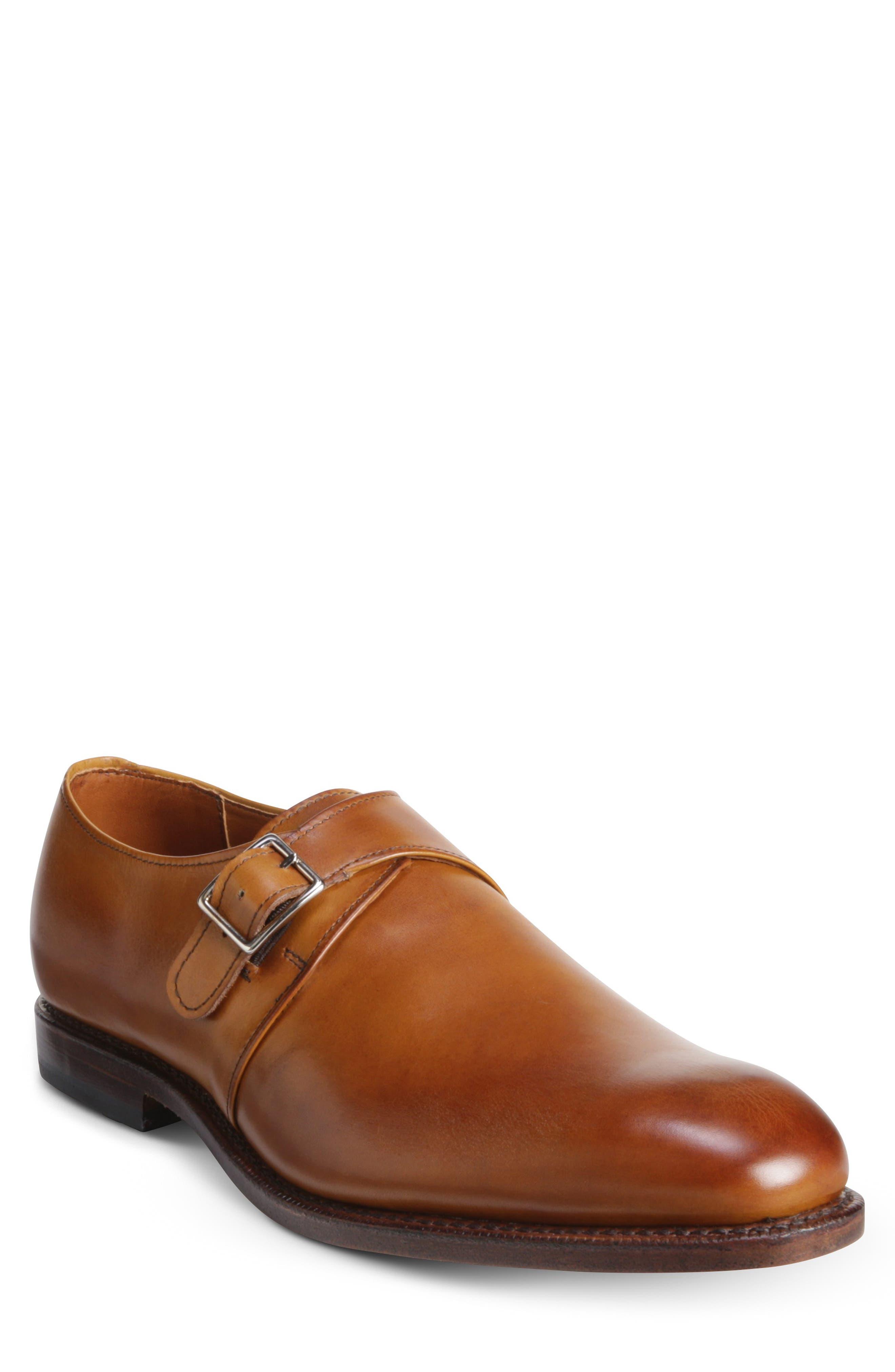 Plymouth Monk Strap Shoe