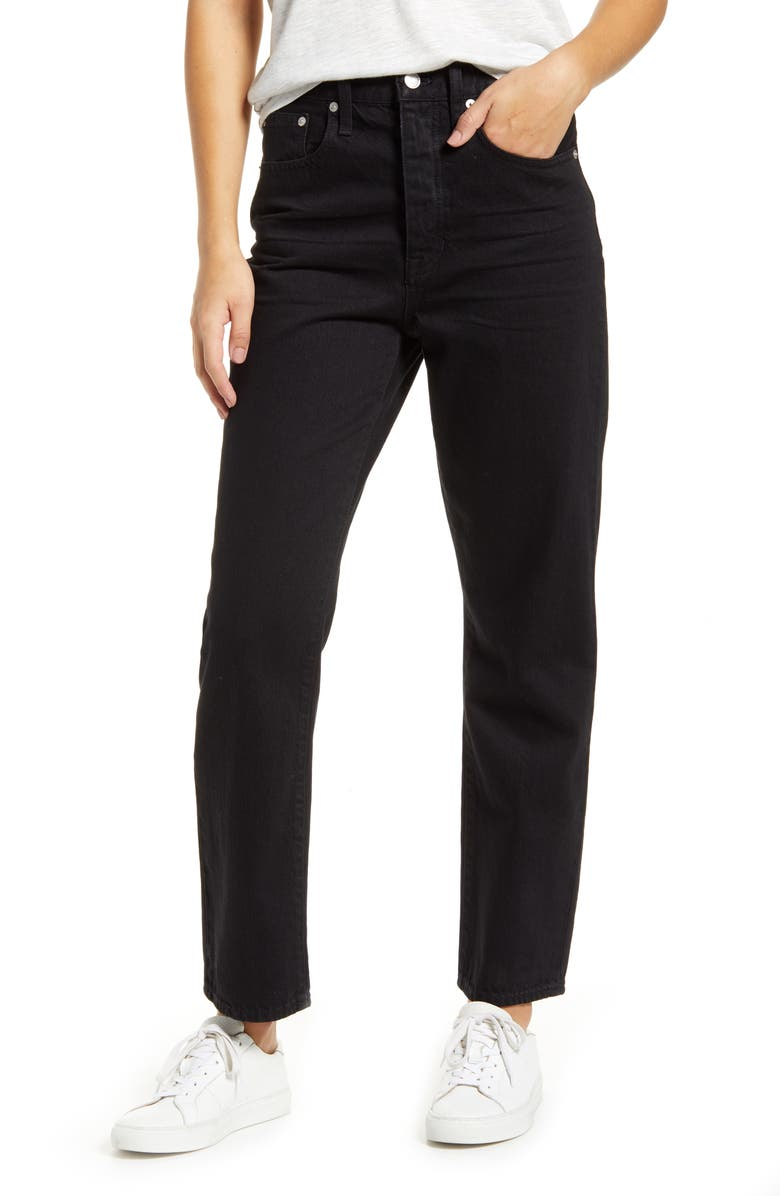 MADEWELL The Dadjean Jeans, Main, color, BRADBURN WASH