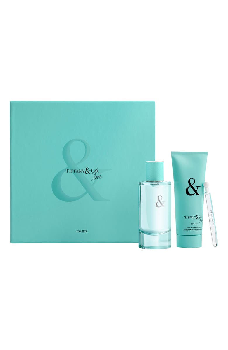 TIFFANY & CO. Tiffany & Love Eau de Parfum for Her Set, Main, color, 000