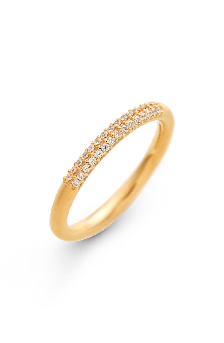 DEAN DAVIDSON Signature Cubic Zirconia Pavé Band, Main, color, GOLD