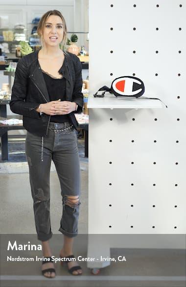 Prime Logo Nylon Belt Bag, sales video thumbnail