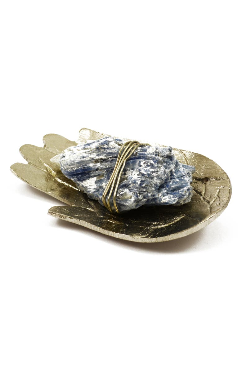 ARIANA OST Attune Dish Crystal Sound Kit, Main, color, SILVER/ BLUE KYANITE