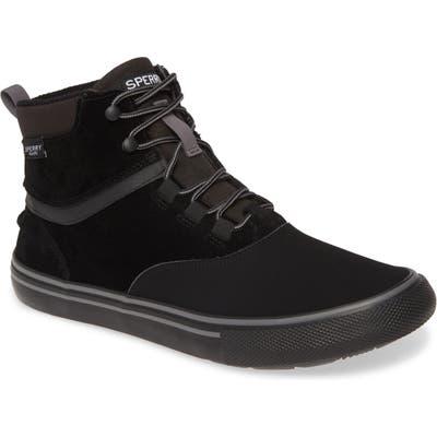 Sperry Striper Ii Storm Waterproof Sneaker Boot, Black