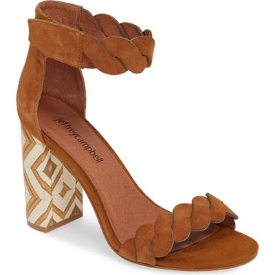 Jeffrey Campbell Ankle Strap Sandal, Brown
